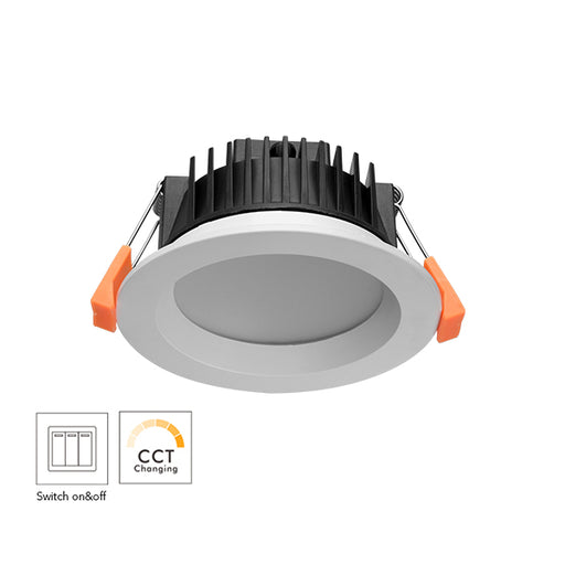 13W 90MM CUTOUT WALL SWITCH LED DOWNLIGHT (DL1260) - LEDLIGHTMELBOURNE