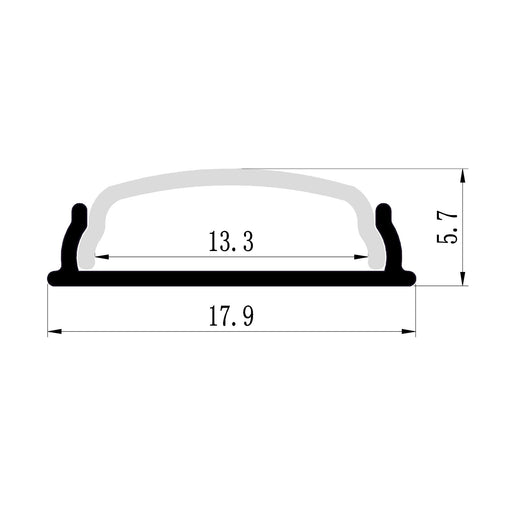 1M A1806 BENDABLE SURFACE PROFILE KIT