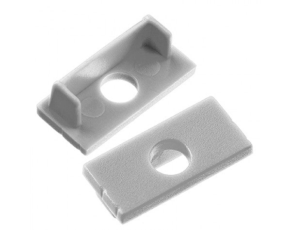 1M A014 ALUMINIUM EXTRUSION WIDE SURFACE MOUNT KIT