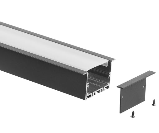 1250MM BLACK RECESSED EXTRUSION OFFCUT ON SALE!