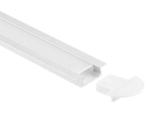 1M A005 ALUMINIUM EXTRUSION FLUSH MOUNT KIT