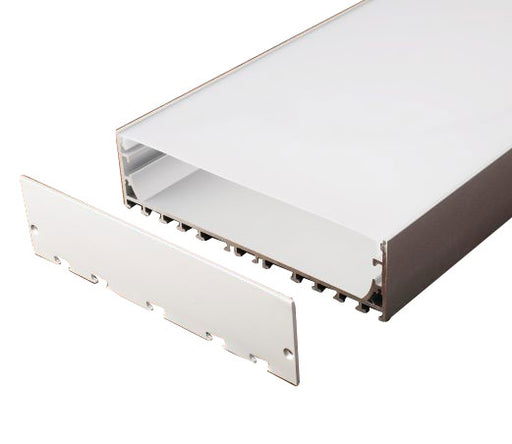 1M A1505 ALUMINIUM EXTRUSION WIDE SURFACE MOUNT KIT