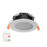 13W 90MM CUTOUT EXTERNAL DRIVER LED DOWNLIGHT (DL1262-TC) - LEDLIGHTMELBOURNE