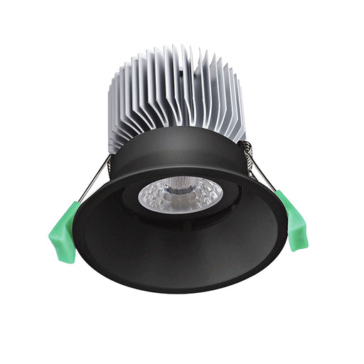 13W 90MM CUTOUT FRAMELESS COB LED DOWNLIGHT (DL9530-BLK) - LEDLIGHTMELBOURNE