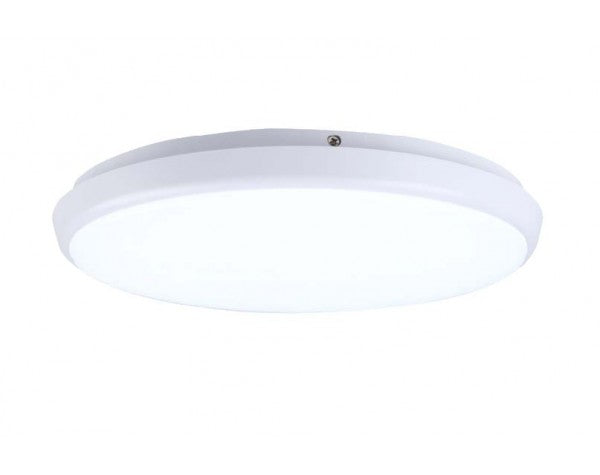 DIMMABLE 15W Ø250MM LED CEILING OYSTER (AC9001-15W) - LEDLIGHTMELBOURNE