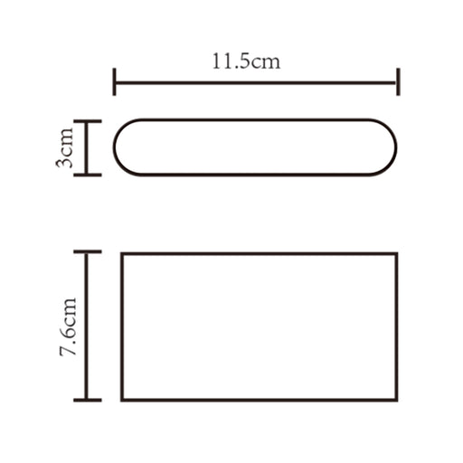 3W DOWN WALL LIGHT (SE-362-WH)