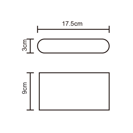 2*5W UP & DOWN WALL LIGHT (SE-365-BK)