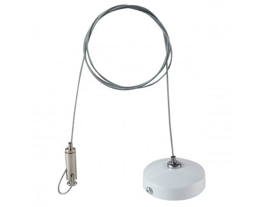 3 WIRE SINGLE TRACK SUSPENSION CABLE, WHITE - LEDLIGHTMELBOURNE