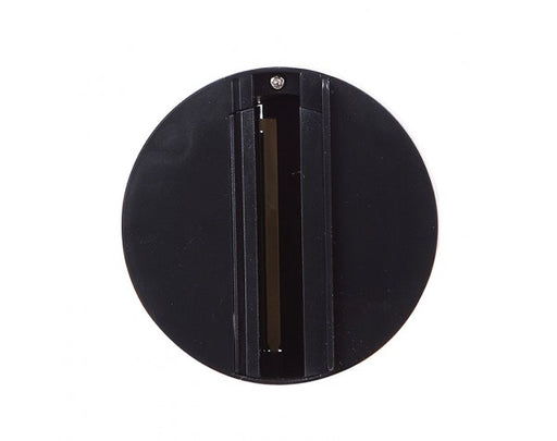4 WIRE 3 CIRCUIT TRACK SURFACE MOUNT, BLACK ROUND