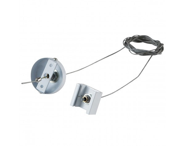 4 WIRE 3 CIRCUIT TRACK-SUSPENSION, WHITE - LEDLIGHTMELBOURNE