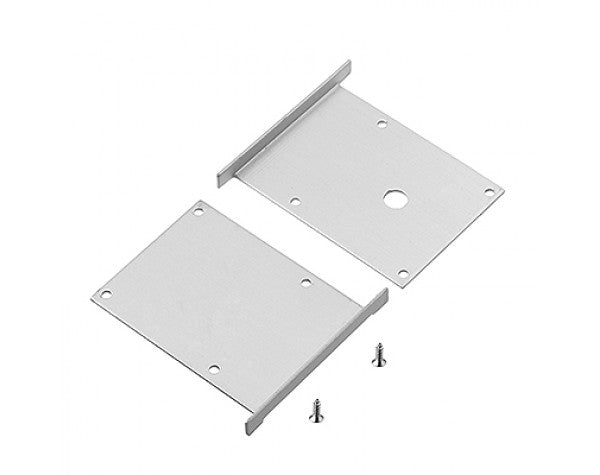 1M A7075 ALUMINIUM EXTRUSION DEEP RECESS MOUNT KIT - LEDLIGHTMELBOURNE