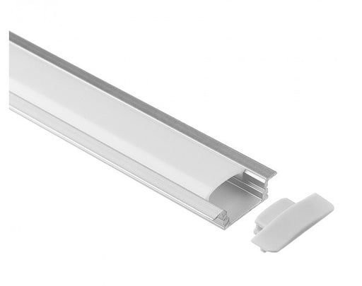 1M A001 ALUMINIUM EXTRUSION FLUSH MOUNT KIT - LEDLIGHTMELBOURNE