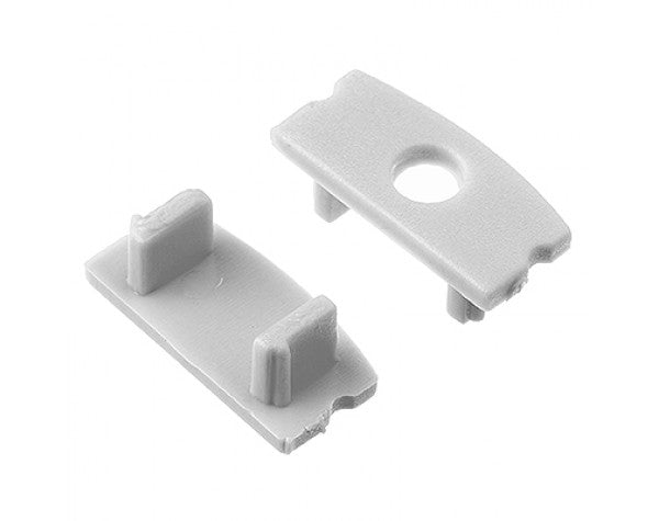 1M A002 ALUMINIUM EXTRUSION SURFACE MOUNT KIT - LEDLIGHTMELBOURNE