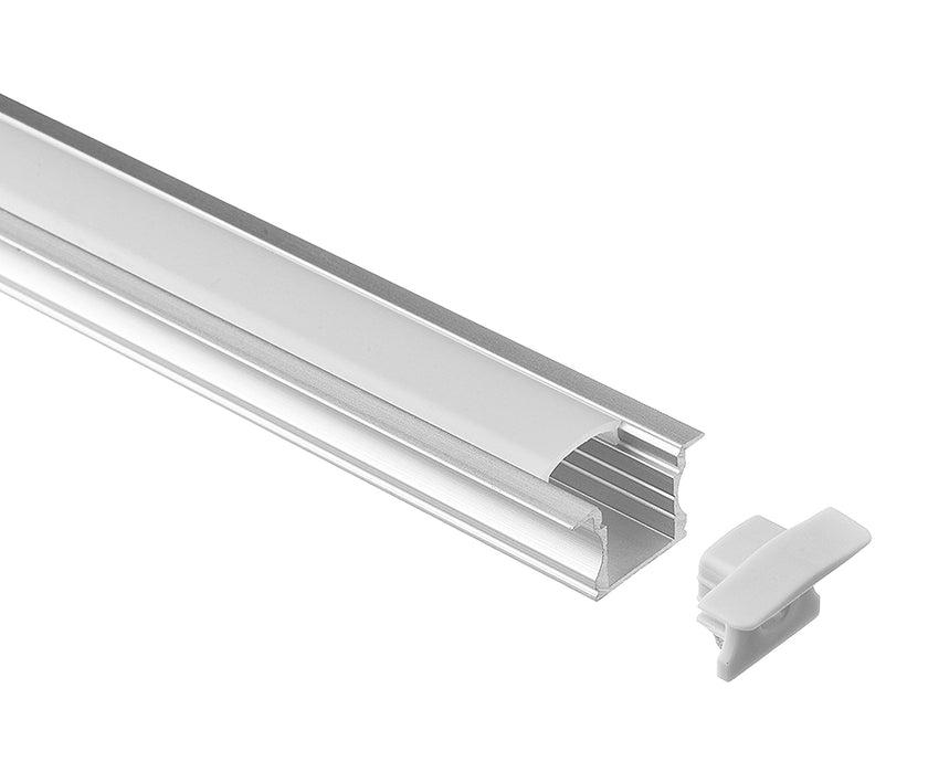 1M A003 ALUMINIUM EXTRUSION RECESSED MOUNT KIT - LEDLIGHTMELBOURNE