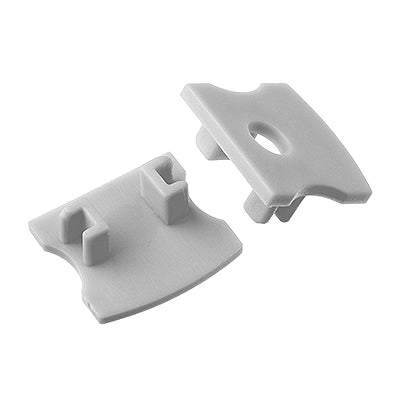 1M A004 ALUMINIUM EXTRUSION SURFACE MOUNT KIT - LEDLIGHTMELBOURNE
