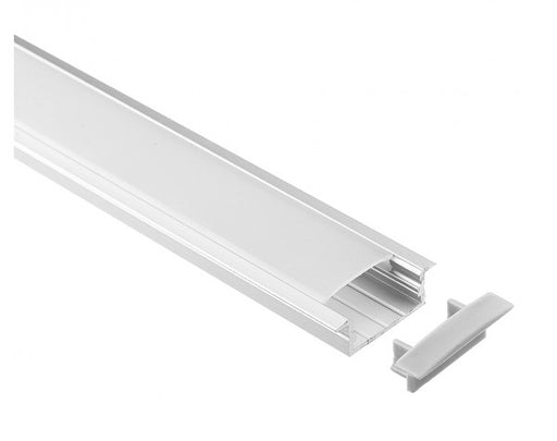 1M A013 ALUMINIUM EXTRUSION WIDE FLUSH MOUNT KIT - LEDLIGHTMELBOURNE