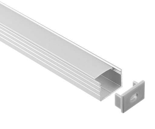 1M A1605 ALUMINIUM EXTRUSION DEEP SURFACE MOUNT KIT - LEDLIGHTMELBOURNE