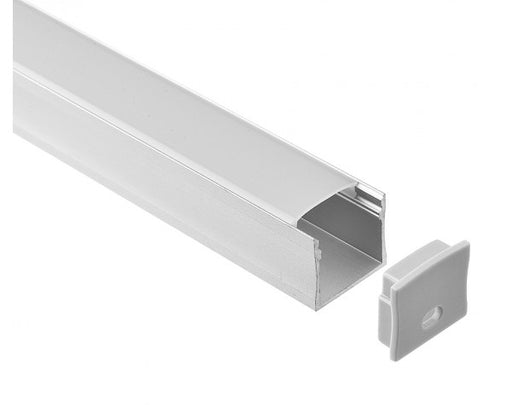 1M A2007 ALUMINIUM EXTRUSION DEEP SURFACE MOUNT KIT - LEDLIGHTMELBOURNE