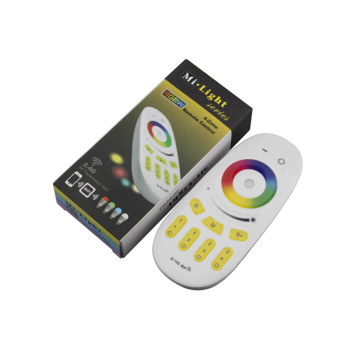 RF WIFI CONTROLLER FOR RGBW LED STRIP - 4 ZONE - LEDLIGHTMELBOURNE