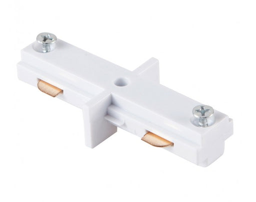 3 WIRE MINI IN‐LINE TRACK JOINER, WHITE - LEDLIGHTMELBOURNE