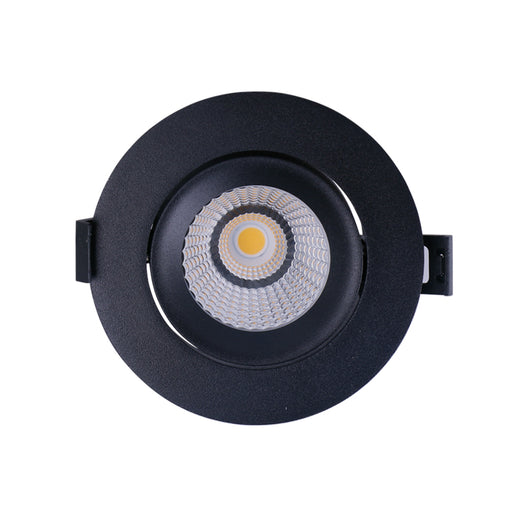 10W 90MM CUTOUT GIMMBLE COB LED DOWNLIGHT (DL9411-BLK) - LEDLIGHTMELBOURNE