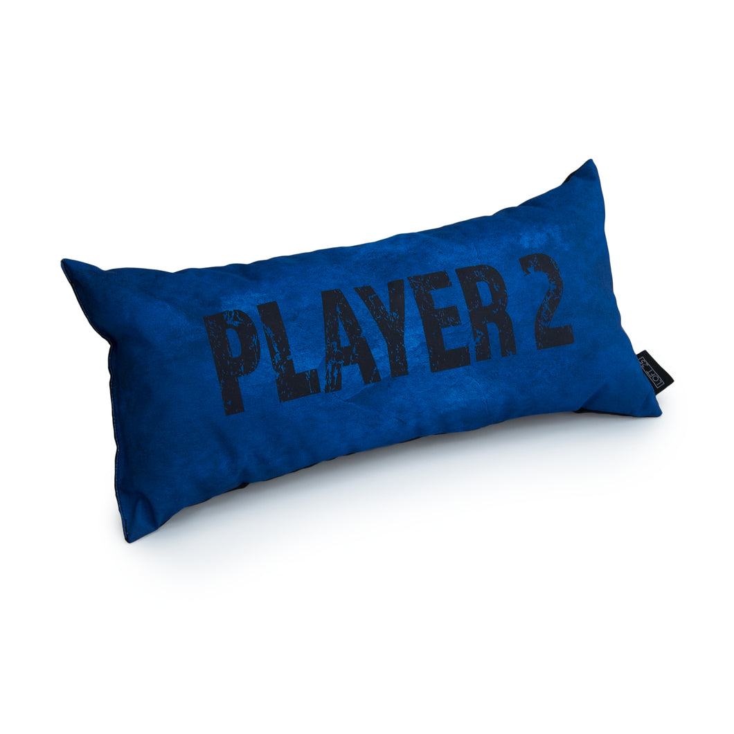 GAMING CUSHION - PLAYER 2 (Blue)