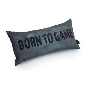 Gaming Cushion - Born To Game (Silver)
