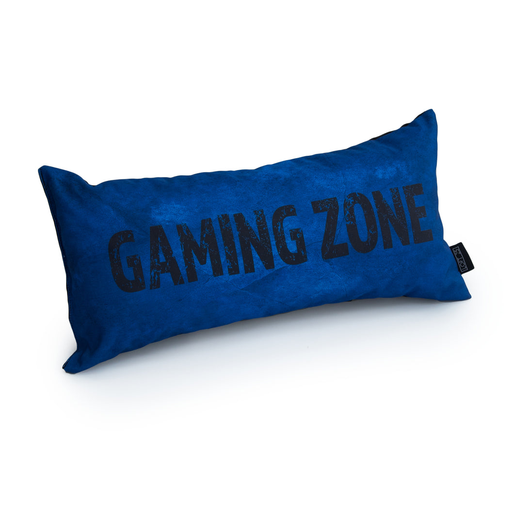 GAMING CUSHION - GAMING ZONE (Blue)