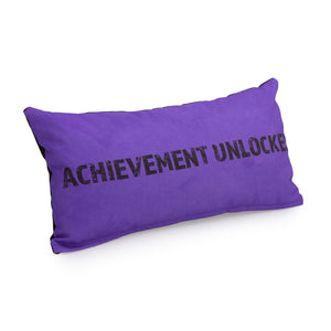 Gaming Cushion - Achievement Unlocked (Purple)
