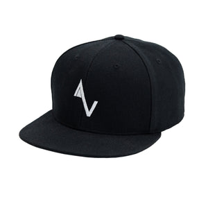 Black Game Over AV Logo Snapback
