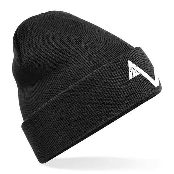 Black Game Over AV Logo Beanie
