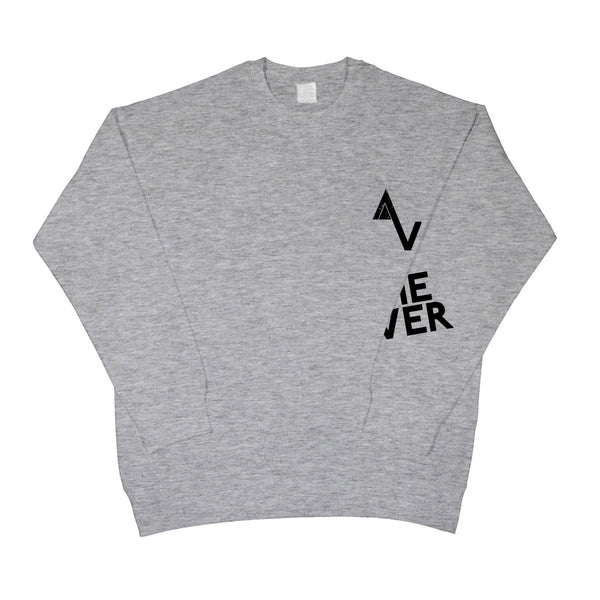 Grey Game Over AV Wrap Logo Sweatshirt