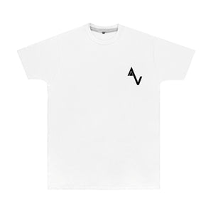 White Game Over AV Logo T-Shirt