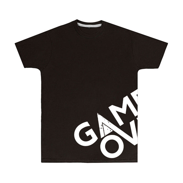 Black Game Over Wrap Logo T-Shirt