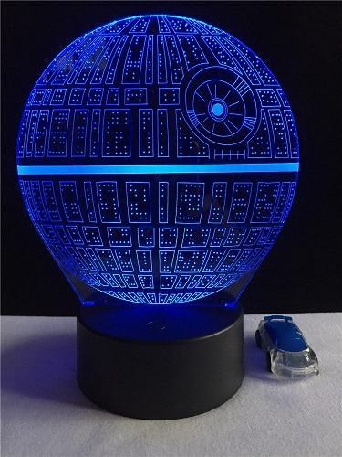3d War Led Death Star LampGo Smile Buy wOkn08P