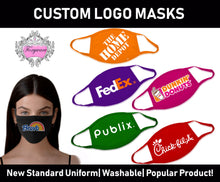 Load image into Gallery viewer, FM102 Custom logo all over with cutom printed earloops and trim
