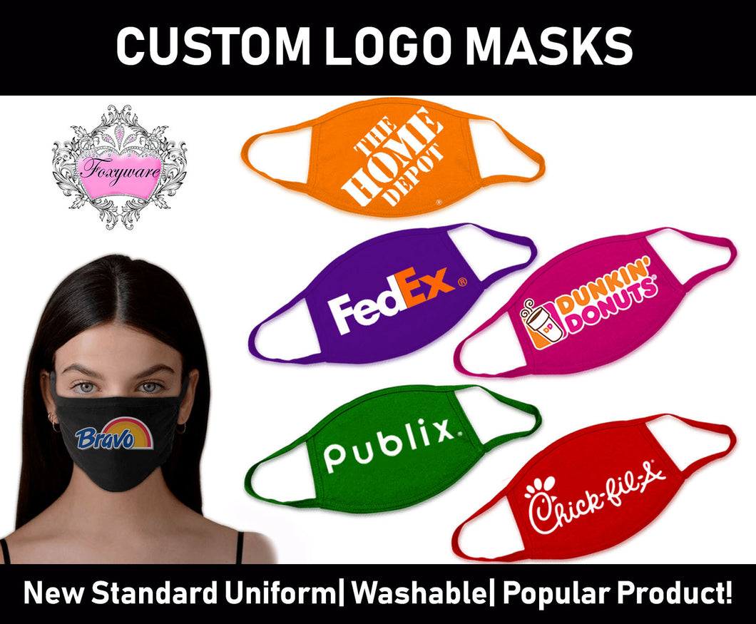 NEW Custom Printed Face Masks Washable/Reusable!