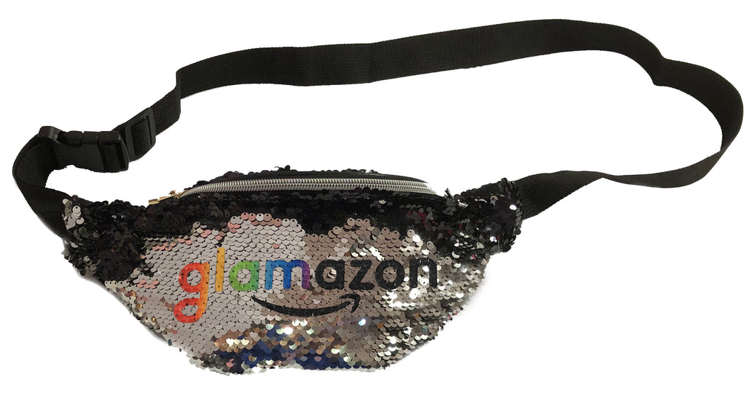 NEW Sequin Fanny Pack with custom logo!