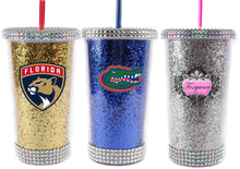 Load image into Gallery viewer, GLITTER RHINESTONE TUMBLERS
