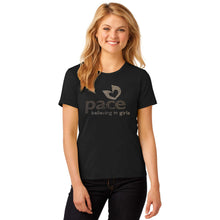Load image into Gallery viewer, Ladies Custom Rhinestone T-Shirt  Item # A880