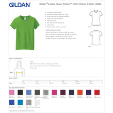 Load image into Gallery viewer, Ladies Custom Rhinestone Tee  Item # G500L