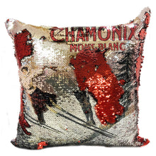 Load image into Gallery viewer, Reverse Magic Mermaid Sequin Pillow Case