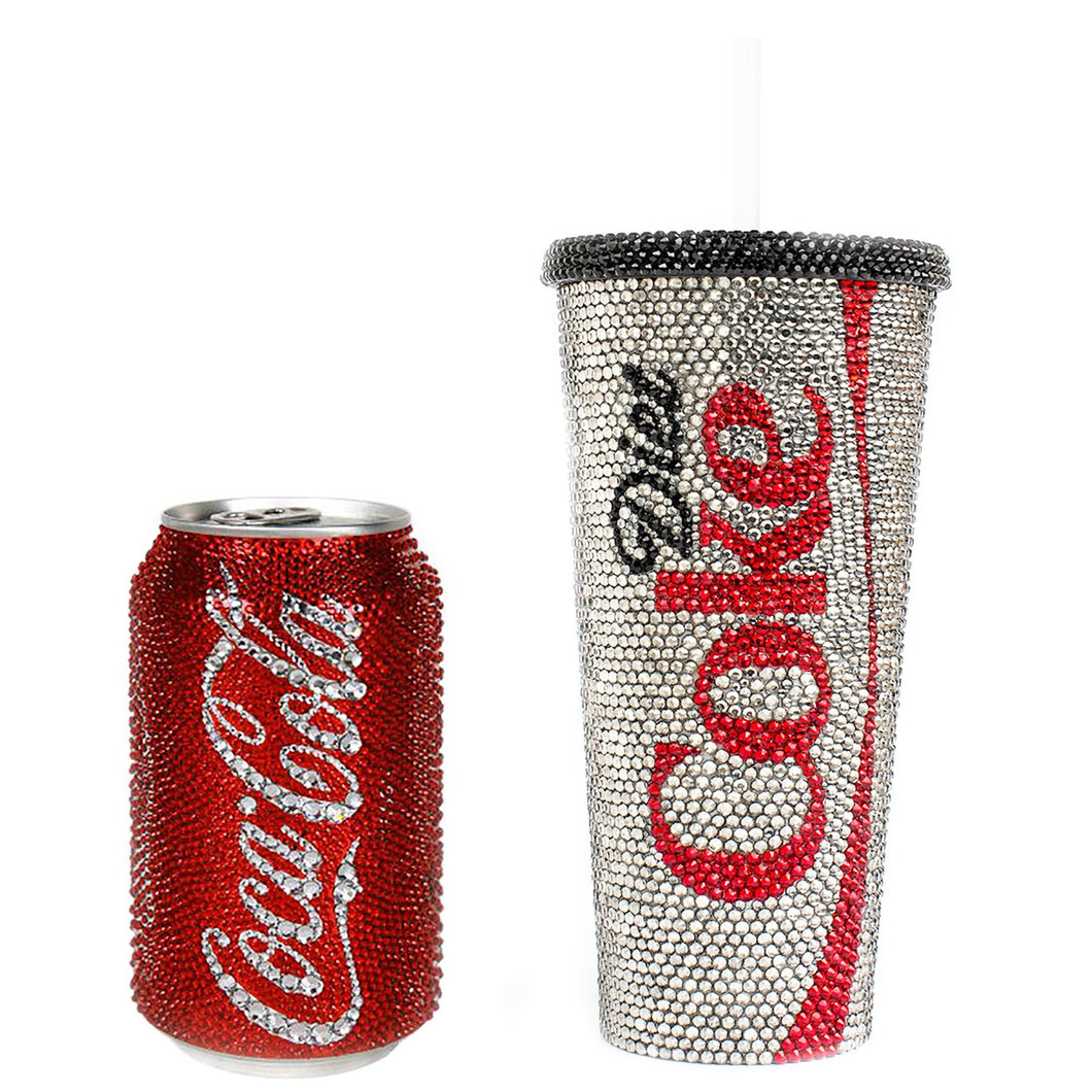 Rhinestone COKE Can