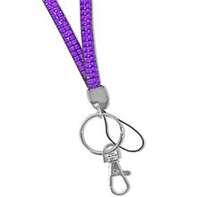 Load image into Gallery viewer, 2-Row Rhinestone Lanyard