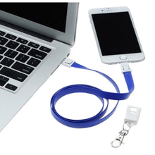 Load image into Gallery viewer, 3 in 1 Phone Charging Lanyard for iPhone & Android