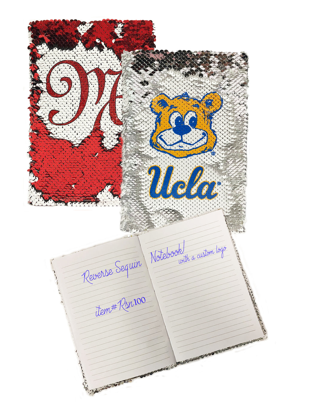 Sequin Notebook/Journal