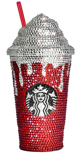 Custom Emblazoned Rhinestone Tumblers with Dome