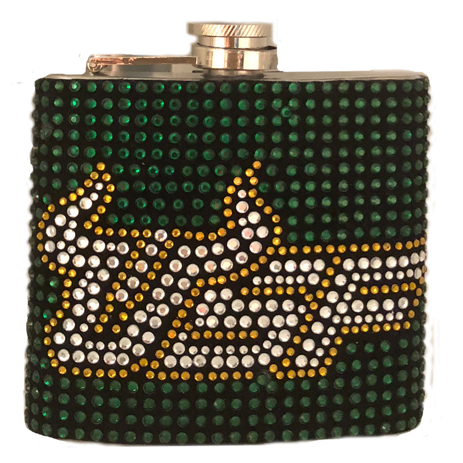 NEW! Rhinestone Hip Flasks