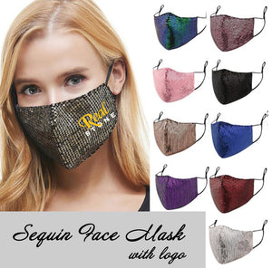 NEW Sequin Face Masks