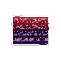 PATH DELIBERATE Sticker
